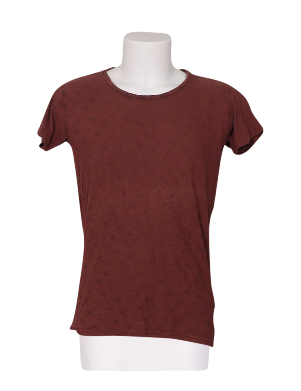 Front photo of Preloved xagon man Bordeaux Man's t-shirt - size 36/S