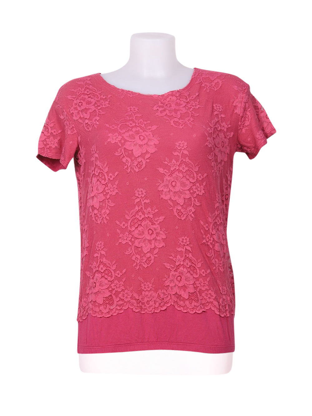 Front photo of Preloved Intimissimi Red Woman's t-shirt - size 8/S