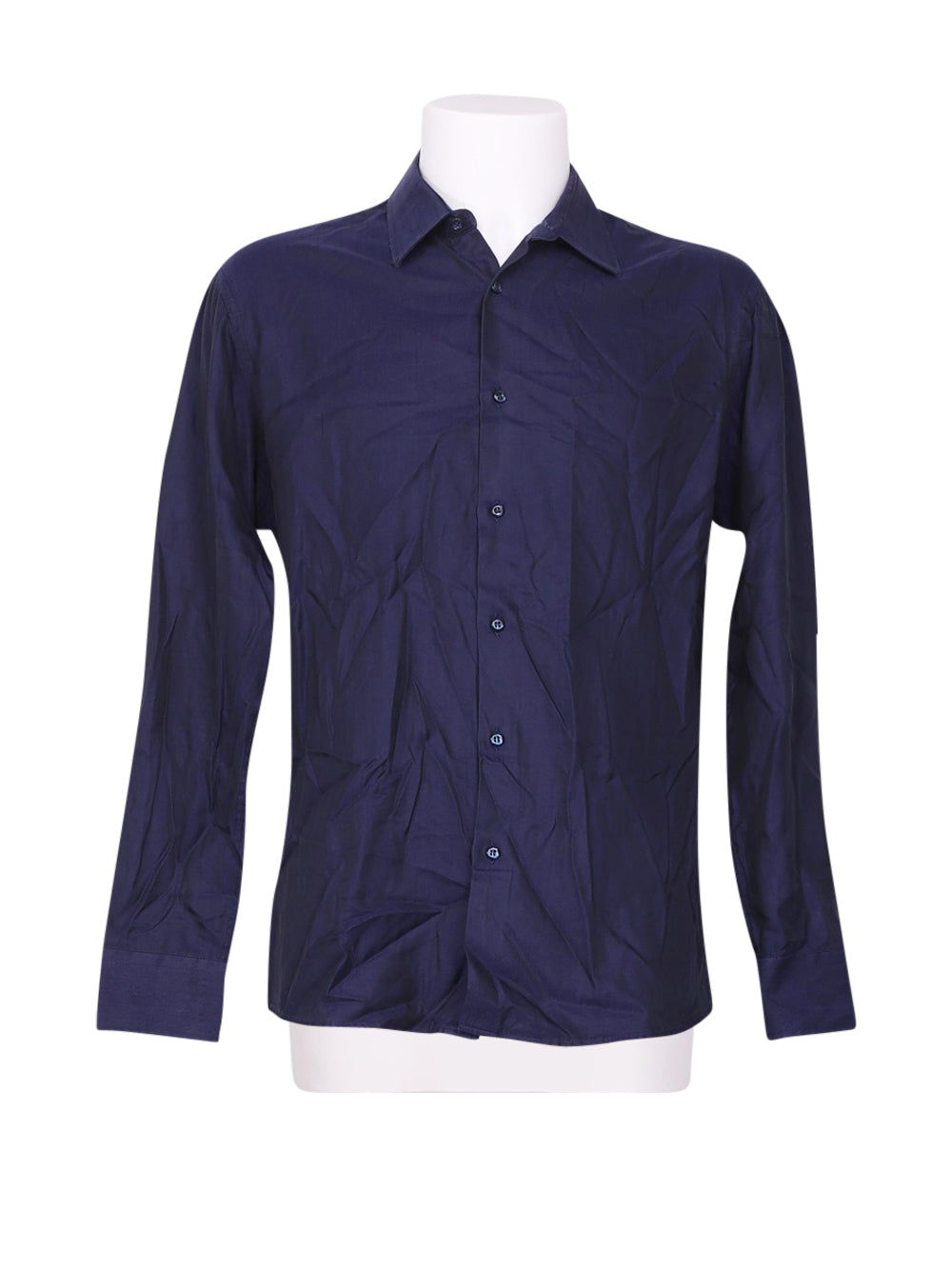 Front photo of Preloved gianmaria Blue Man's shirt - size 40/L