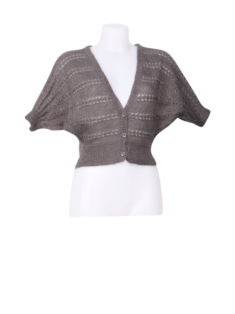 Front photo of Preloved Intimissimi Grey Woman's bolero - size 8/S