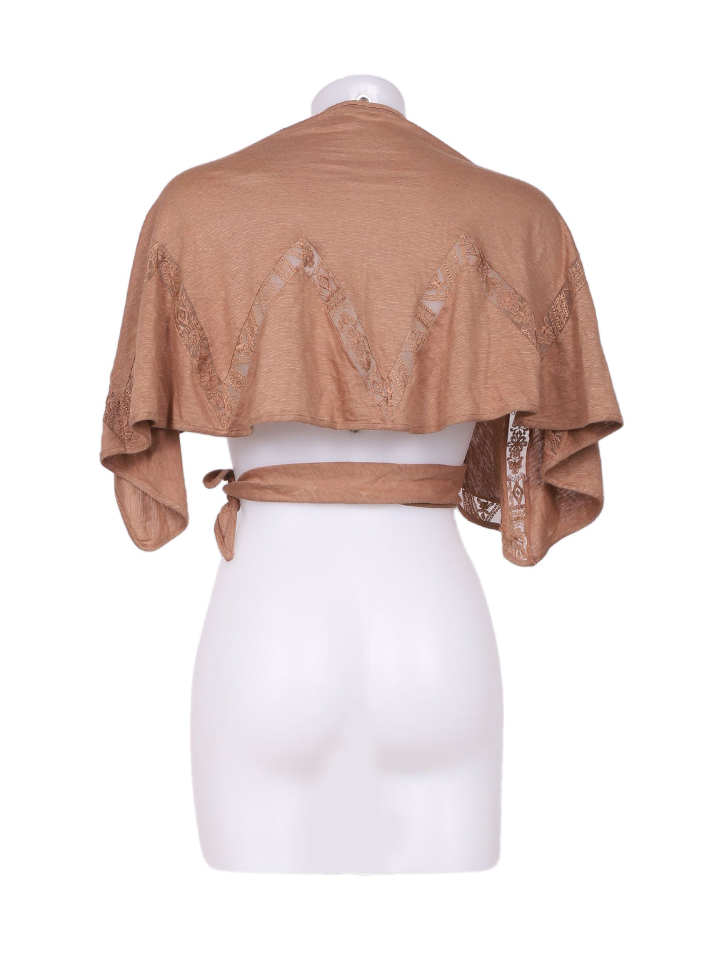 Back photo of Preloved La Perla Brown Woman's bolero - size 12/L