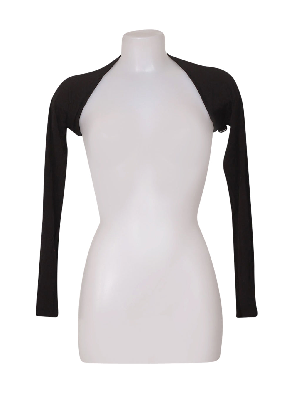 Front photo of Preloved Artigli Black Woman's bolero - size 8/S