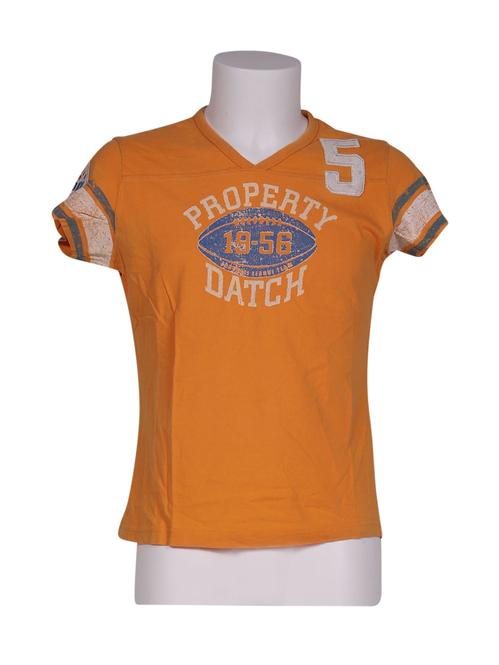 Front photo of Preloved Datch Orange Man's t-shirt - size 36/S
