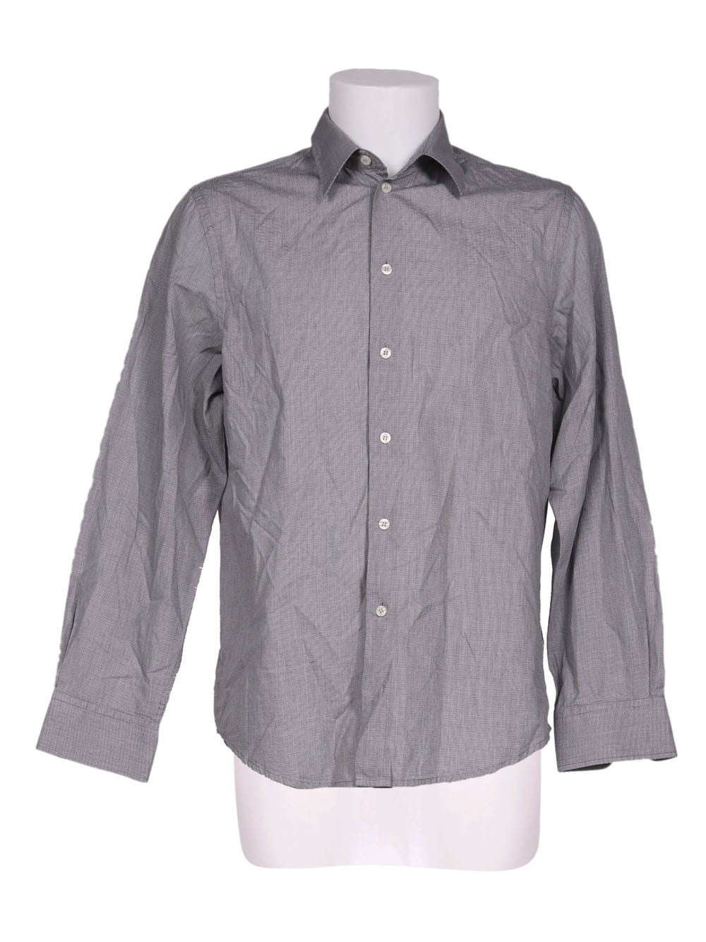 Front photo of Preloved Calvin Klein Grey Man's shirt - size 34/XS