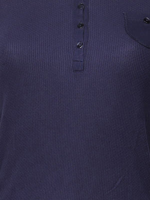 Detail photo of Preloved Intimissimi Blue Woman's polo - size 10/M