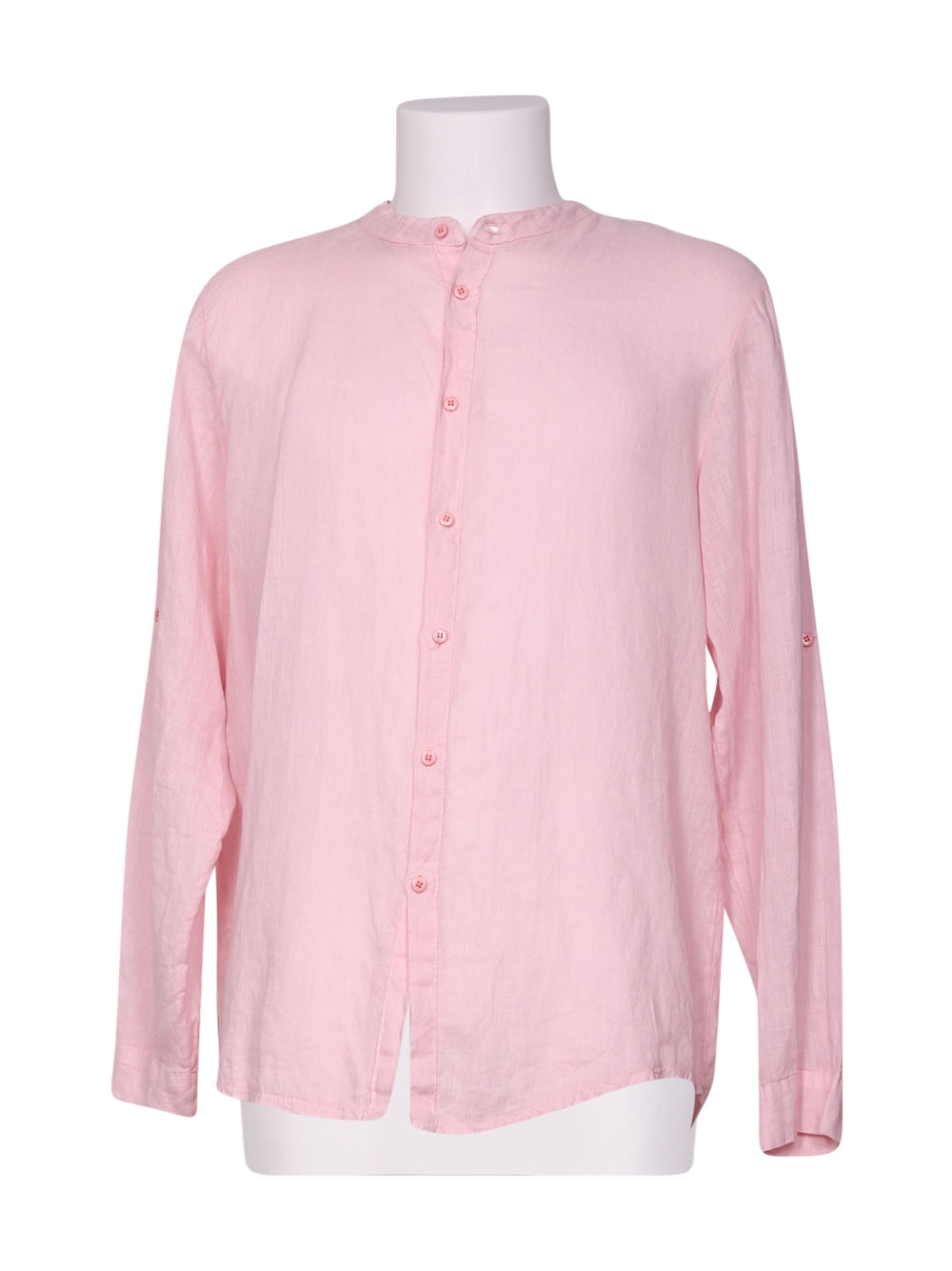 Front photo of Preloved focus Pink Man's shirt - size 44/XXL