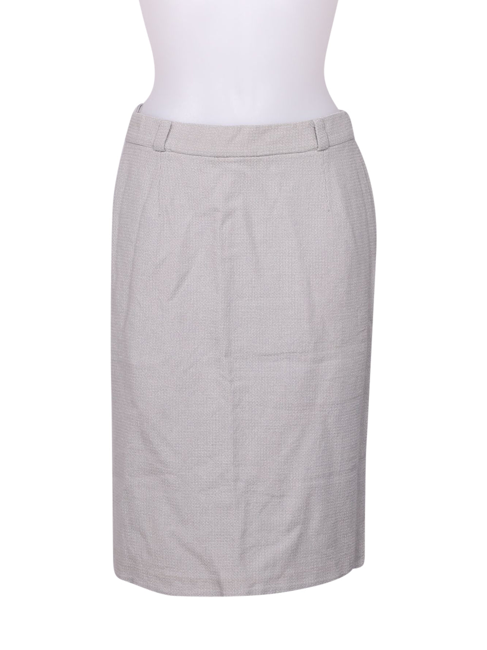 Front photo of Preloved Les Copains Grey Woman's skirt - size 14/XL