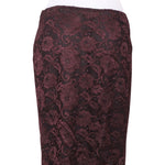 Back photo of Preloved Sisley Bordeaux Woman's skirt - size 10/M