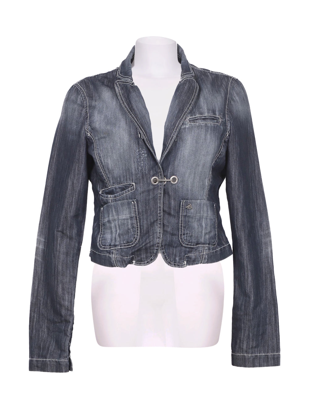 Front photo of Preloved Artigli Blue Woman's jacket - size 12/L