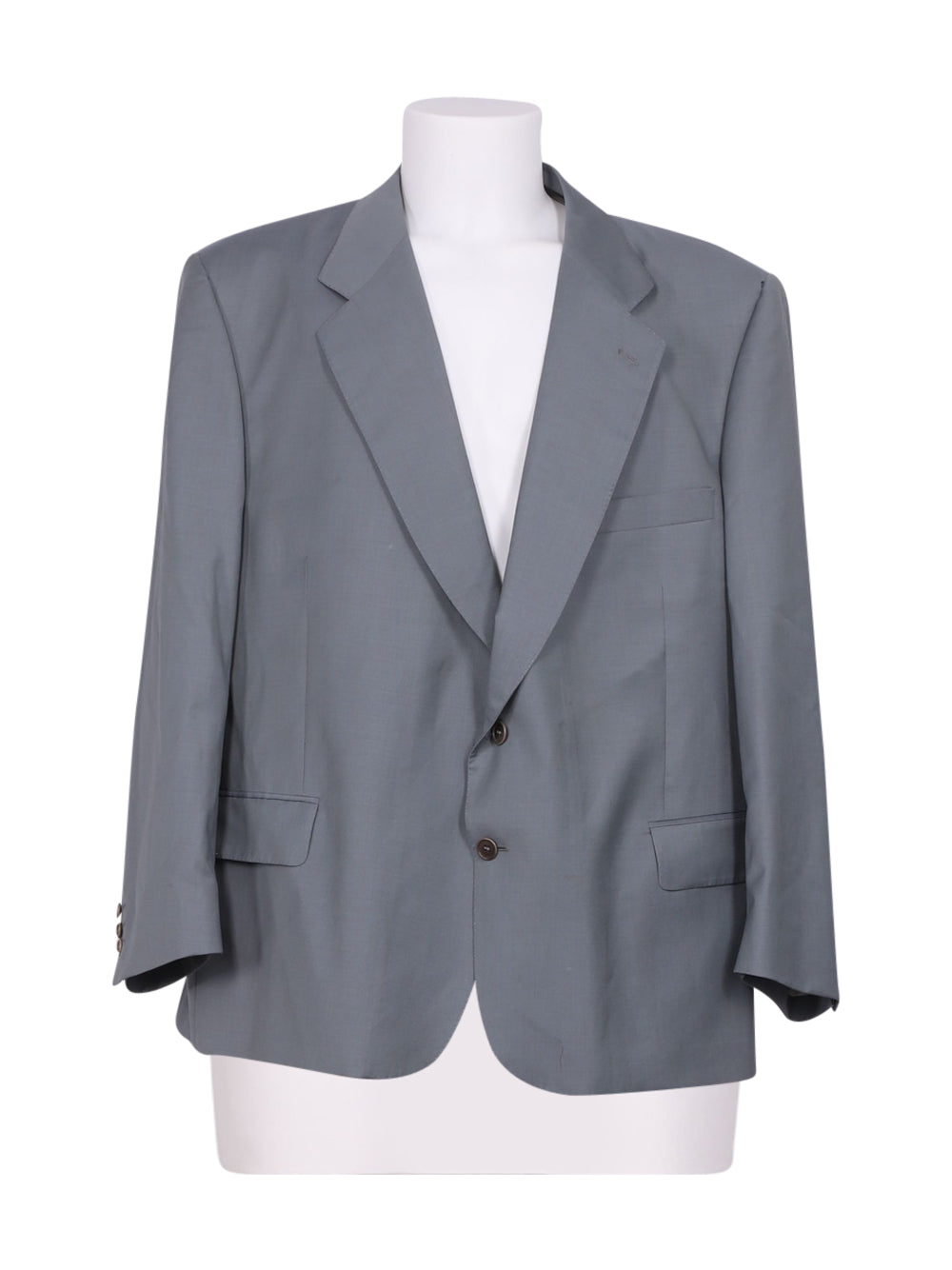 Front photo of Preloved mario zegna Grey Man's blazer - size 44/XXL