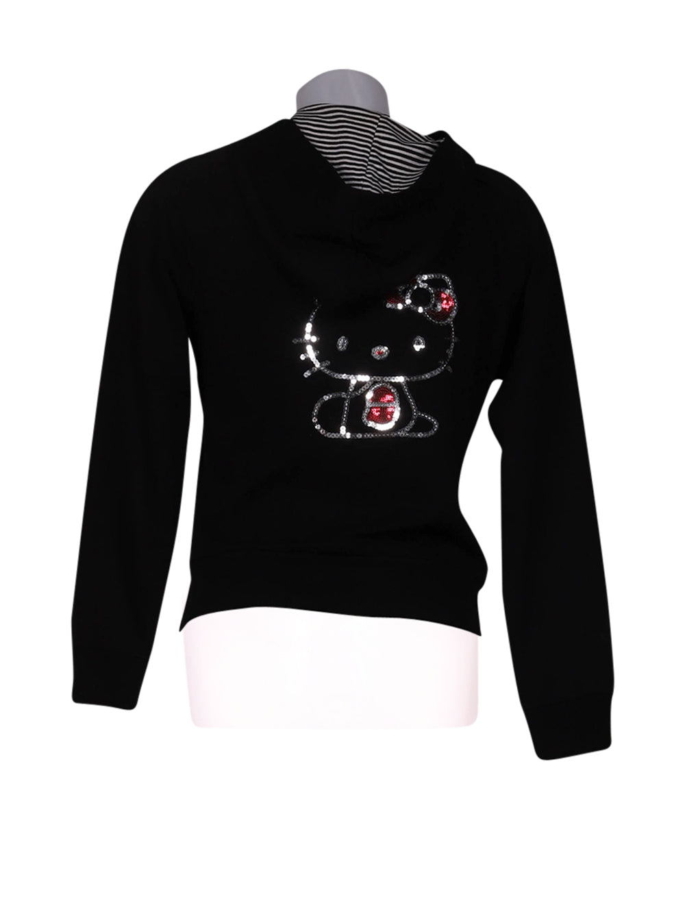 Back photo of Preloved Hello Kitty Black Woman's sweatshirt - size 10/M