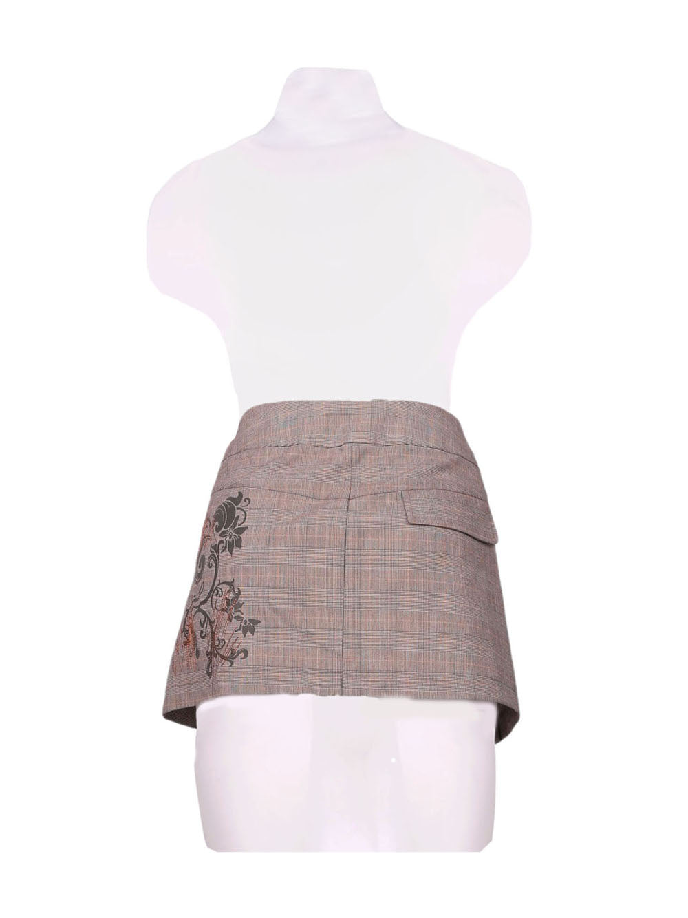 Back photo of Preloved Bloom Grey Woman's skirt - size 10/M