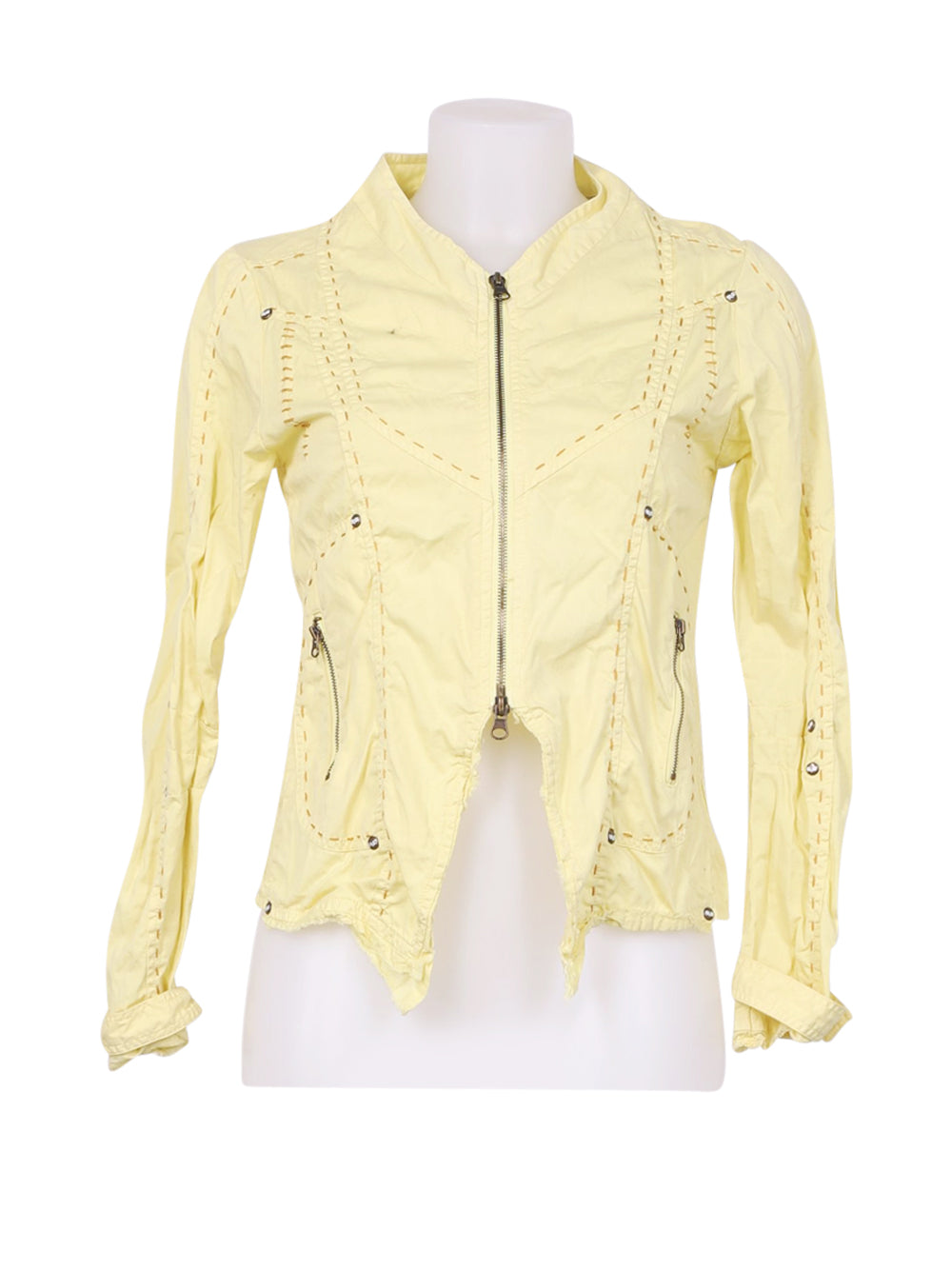Front photo of Preloved Et compagnie Yellow Woman's jacket - size 8/S
