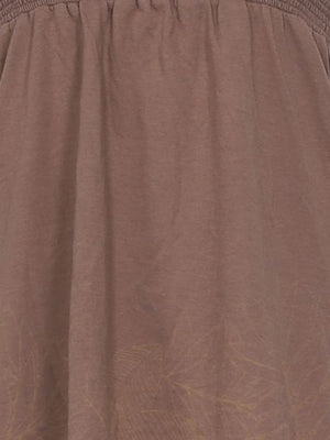 Detail photo of Preloved Roxy Brown Woman's sleeveless top - size 12/L