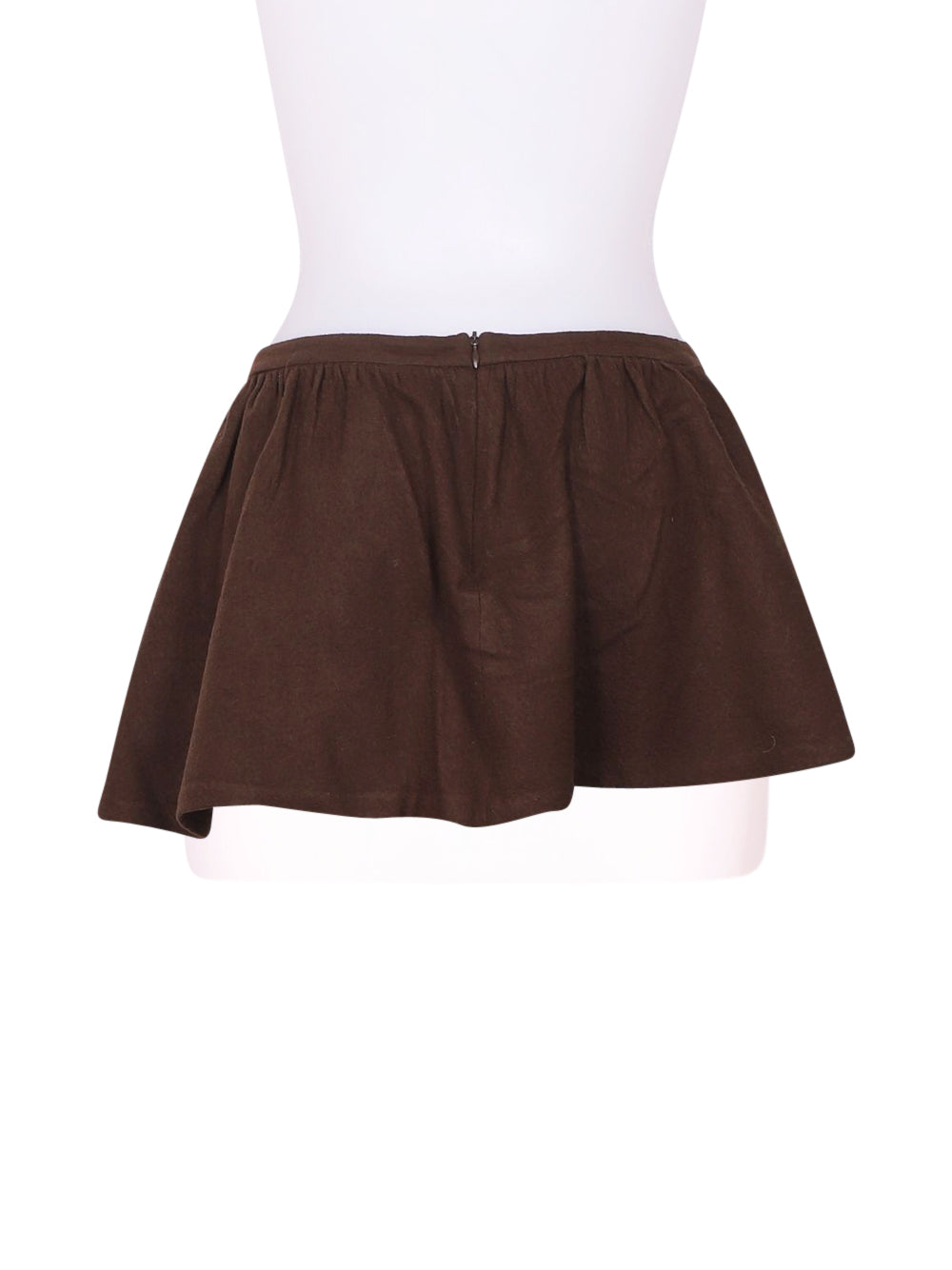 Back photo of Preloved Pinko Brown Woman's skirt - size 8/S