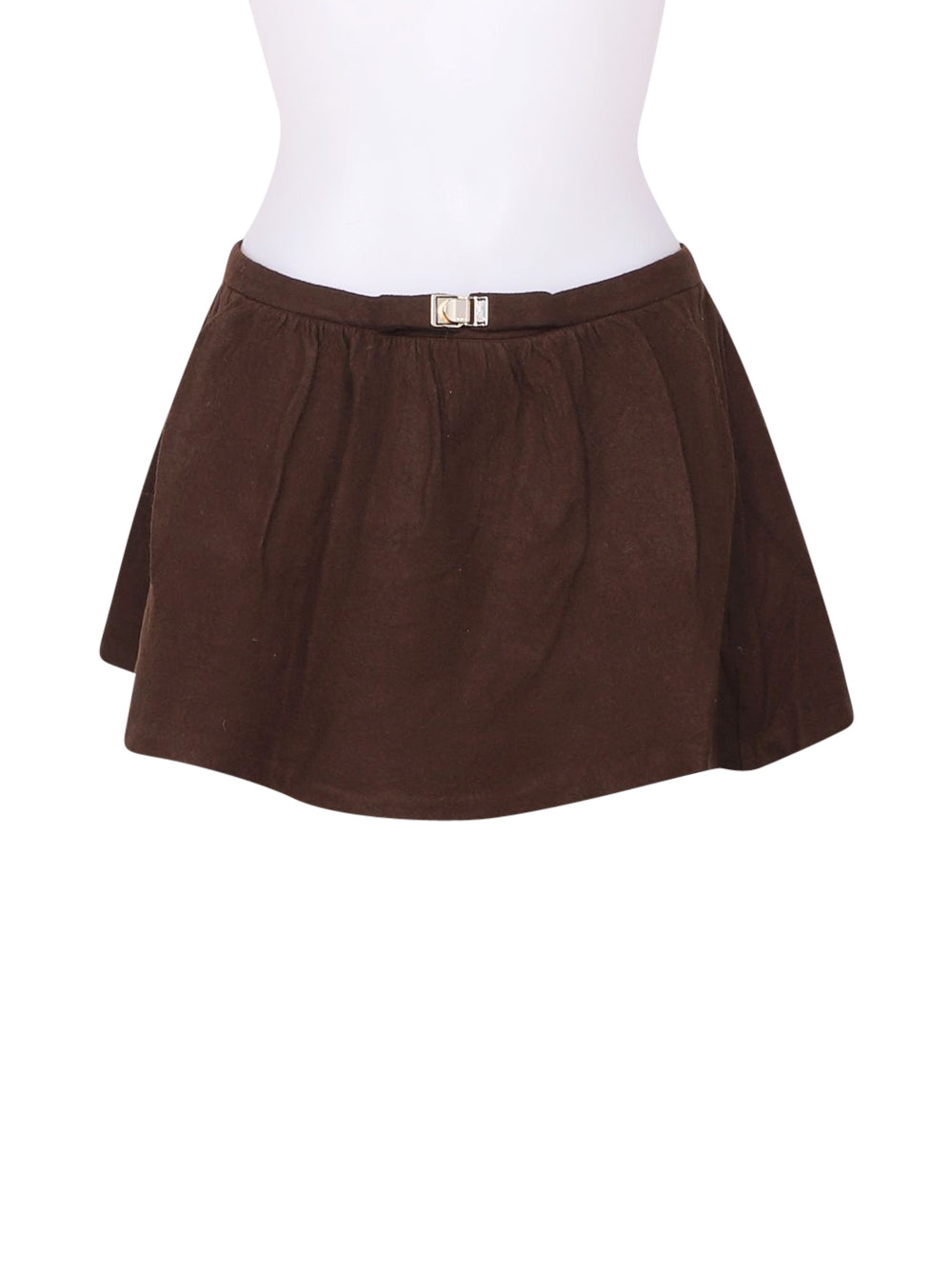 Front photo of Preloved Pinko Brown Woman's skirt - size 8/S