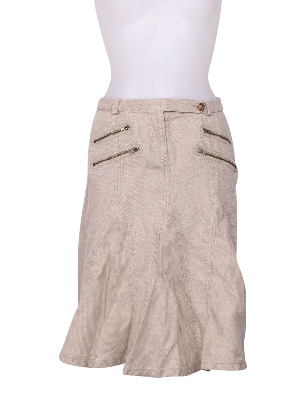 Front photo of Preloved Max&Co. Beige Woman's skirt - size 8/S