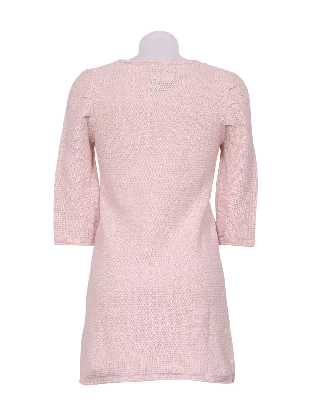 Back photo of Preloved bsk Pink Woman's long sleeved shirt - size 12/L