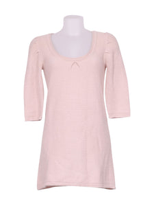 Front photo of Preloved bsk Pink Woman's long sleeved shirt - size 12/L
