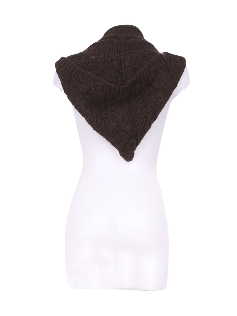 Back photo of Preloved Everlast Brown Woman's scarf - size one-size