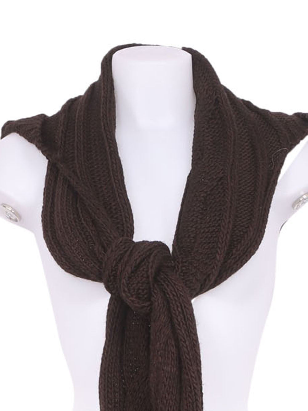 Detail photo of Preloved Everlast Brown Woman's scarf - size one-size