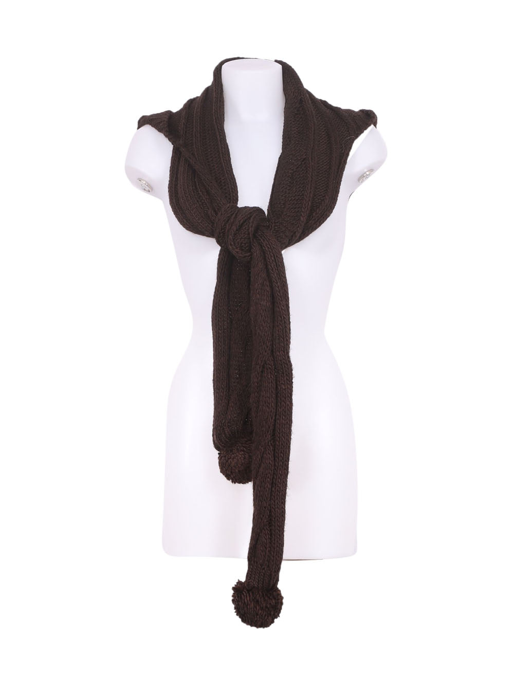 Front photo of Preloved Everlast Brown Woman's scarf - size one-size