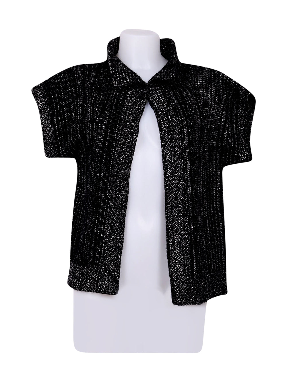 Front photo of Preloved christine laure Black Woman's bolero - size 8/S