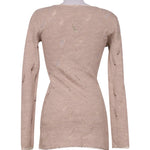 Back photo of Preloved Met Beige Woman's dress - size 8/S