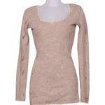 Front photo of Preloved Met Beige Woman's dress - size 8/S
