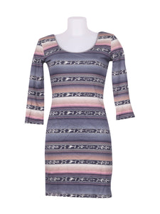 Front photo of Preloved Motivi Grey Woman's dress - size 8/S