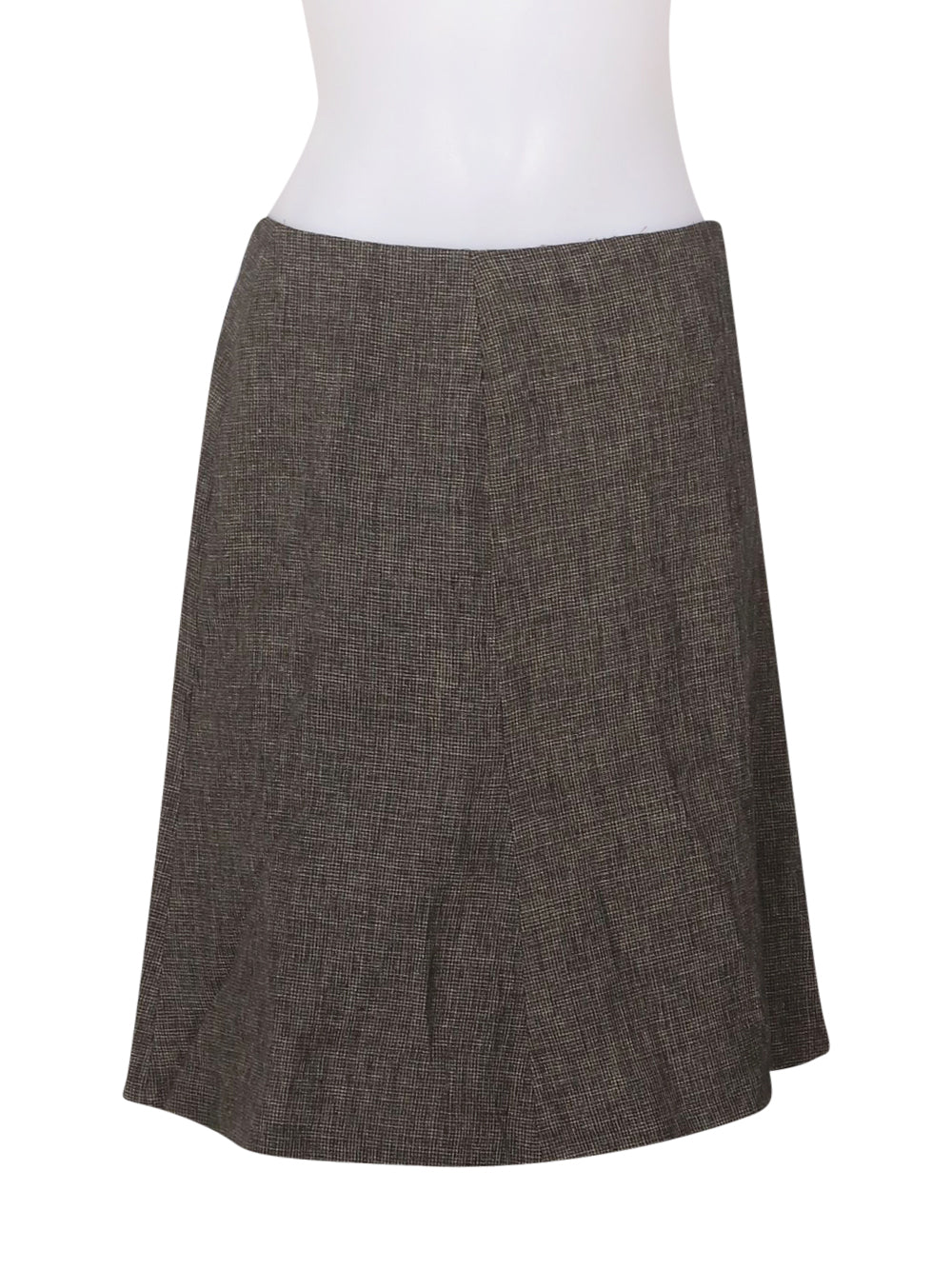 Front photo of Preloved Laltramoda Black Woman's skirt - size 10/M