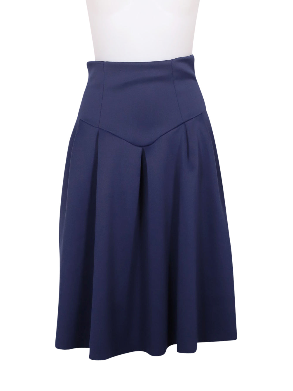 Front photo of Preloved Asos Blue Woman's skirt - size 4/XXS