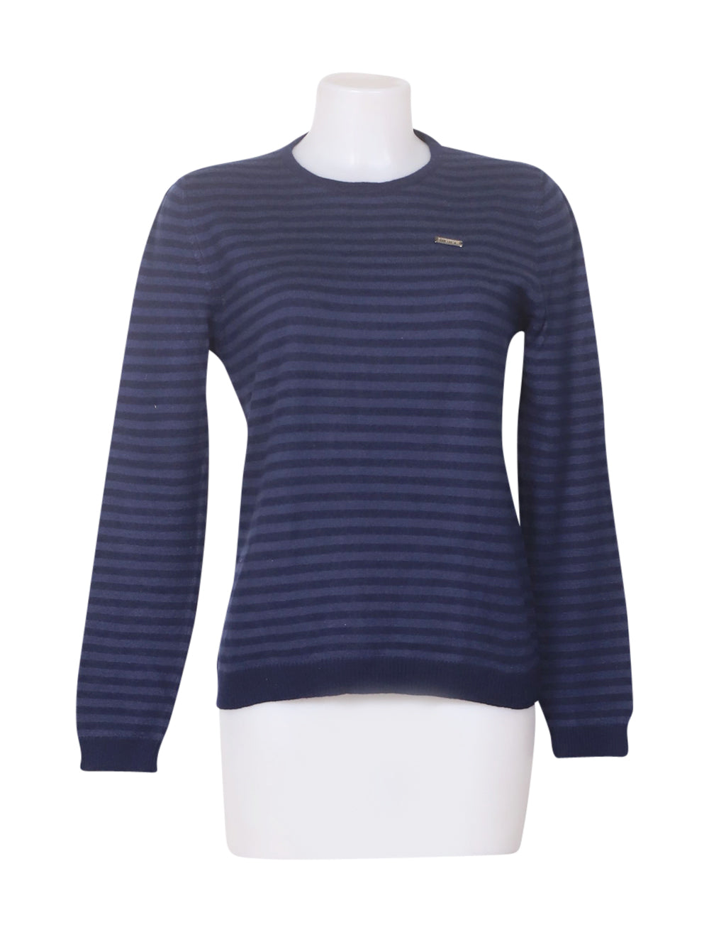 Front photo of Preloved GSBIKKEMBERGSBI Blue Man's sweater - size 40/L