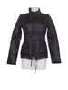 Front photo of Preloved Sisley Black Woman's coat - size 8/S