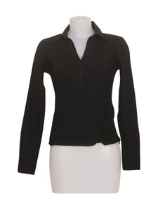 Front photo of Preloved Motivi Black Woman's shirt - size 10/M