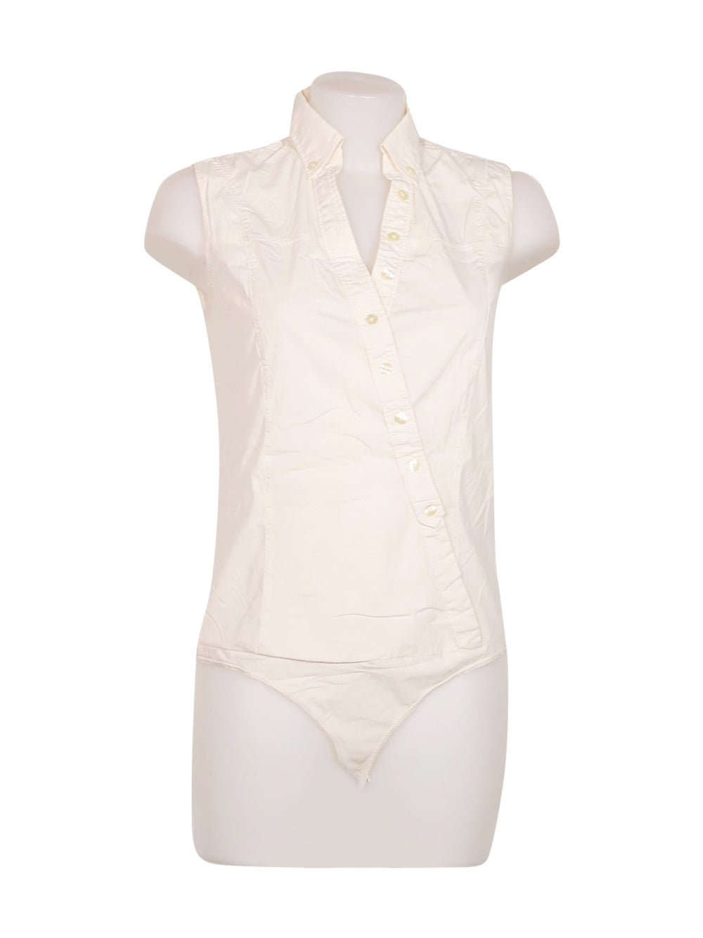 Front photo of Preloved Pinko White Woman's Leotards - size 12/L
