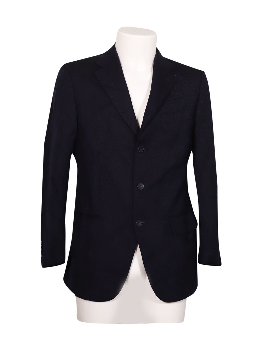 Front photo of Preloved FENI Blue Man's blazer - size 36/S