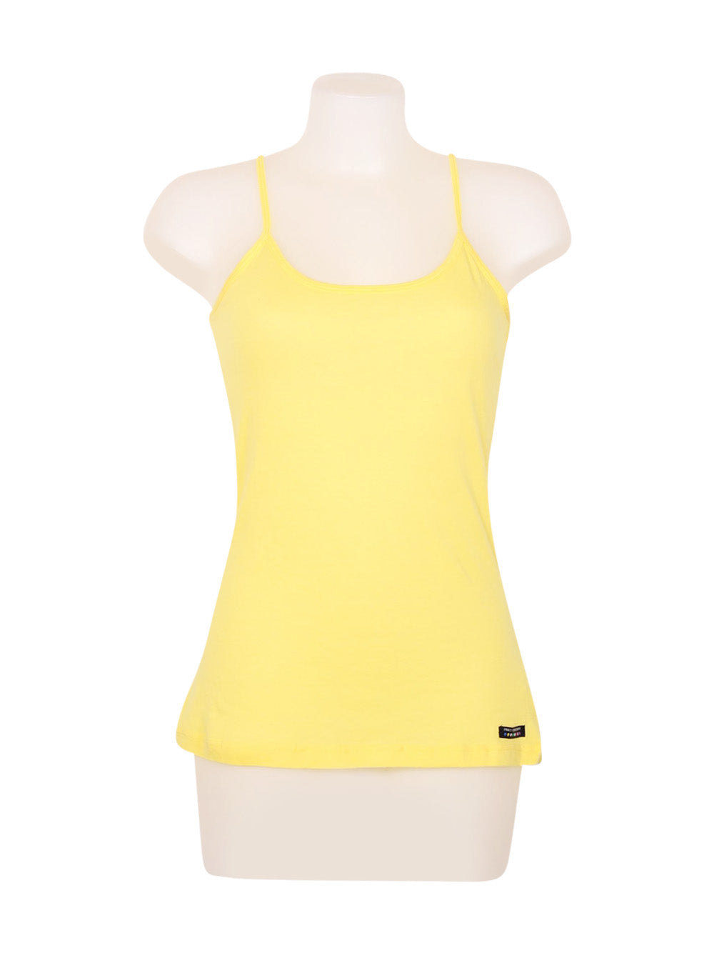 Front photo of Preloved Pinko Yellow Woman's sleeveless top - size 10/M