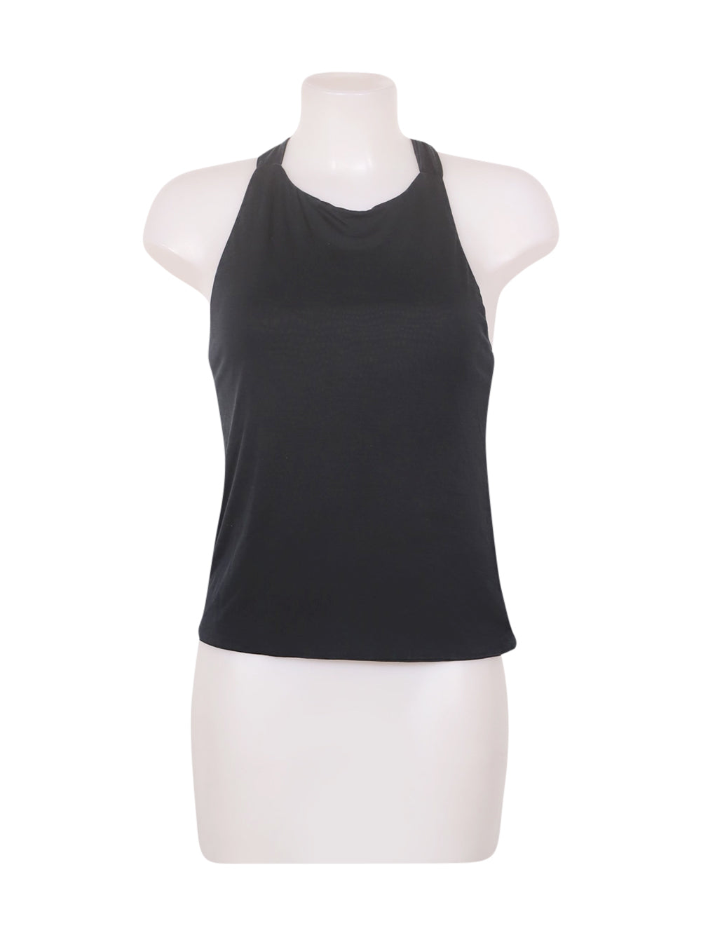Front photo of Preloved Miss Sixty Blue Woman's sleeveless top - size 6/XS