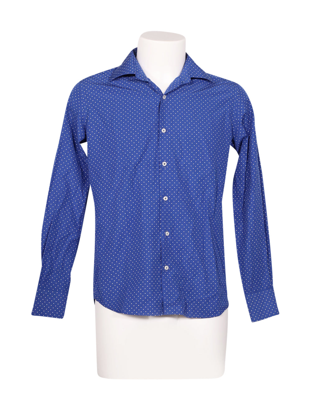 Front photo of Preloved Jo Sorrento Blue Man's shirt - size 38/M