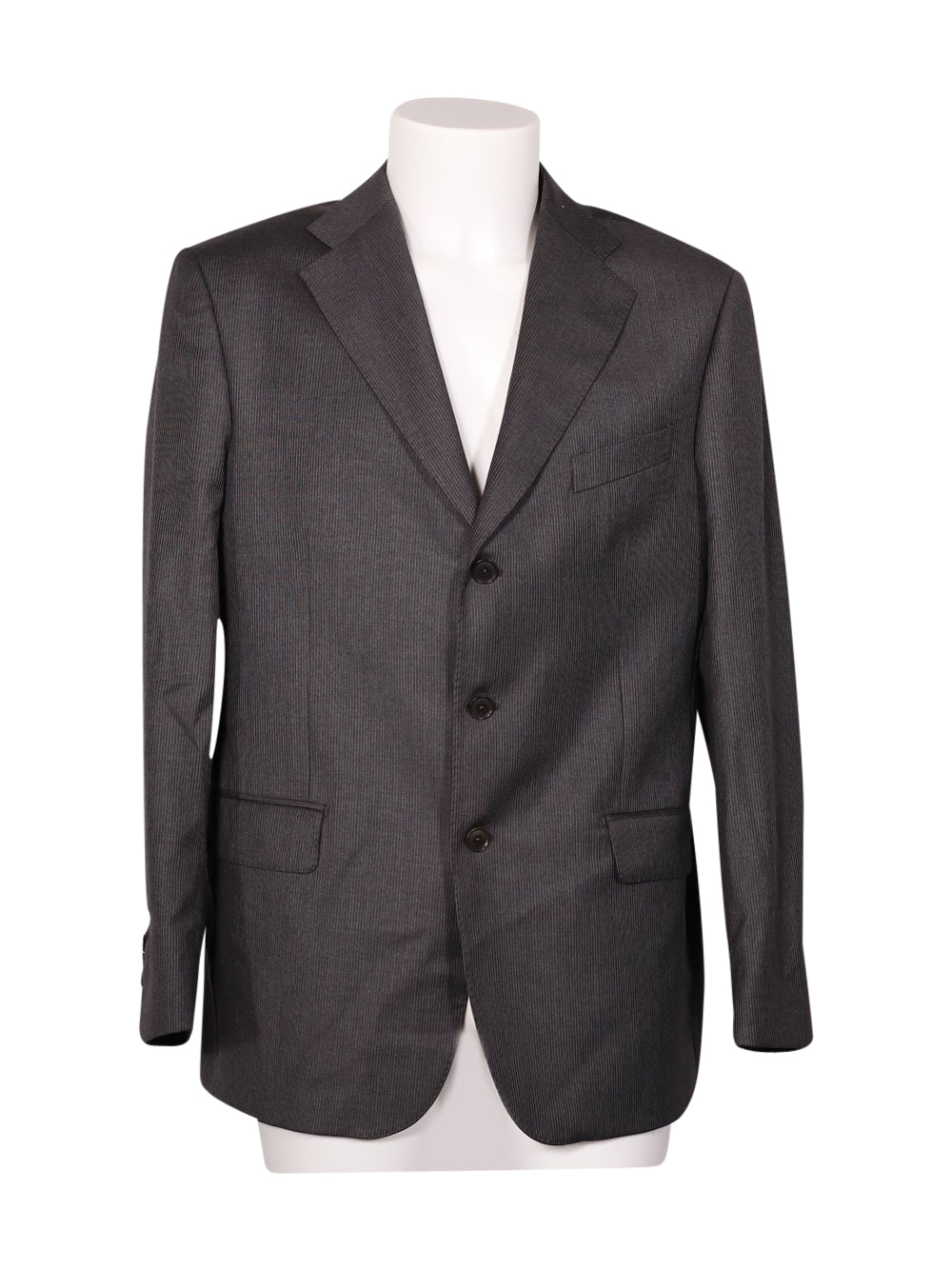 Front photo of Preloved Sartoria Rossi Grey Man's blazer - size 42/XL