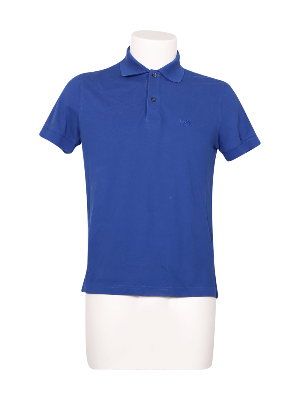 Front photo of Preloved Hugo Boss Blue Man's polo - size 36/S