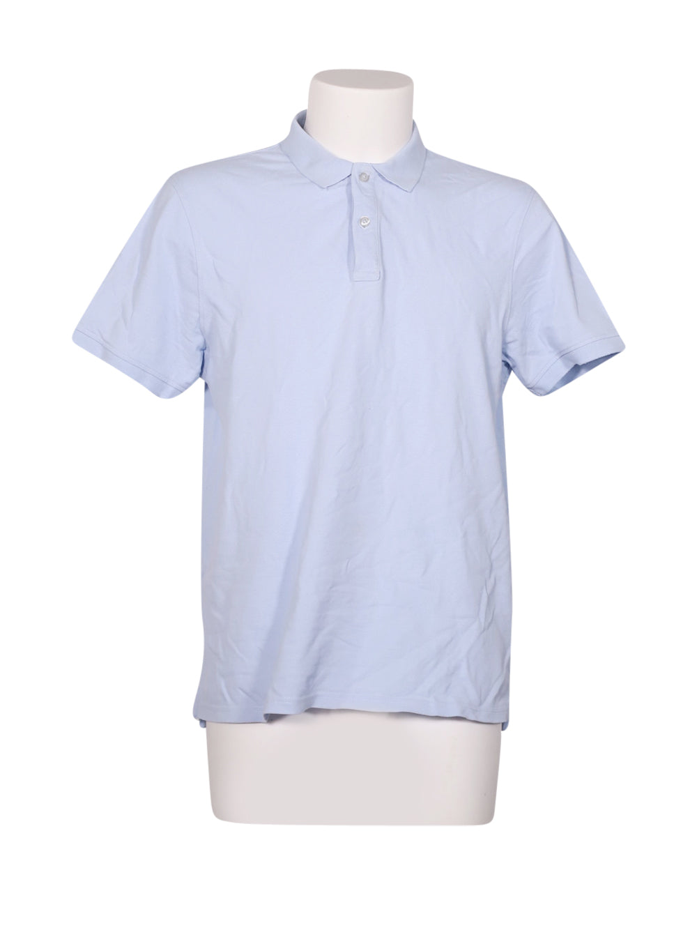 Front photo of Preloved Oysho Light-blue Man's polo - size 44/XXL