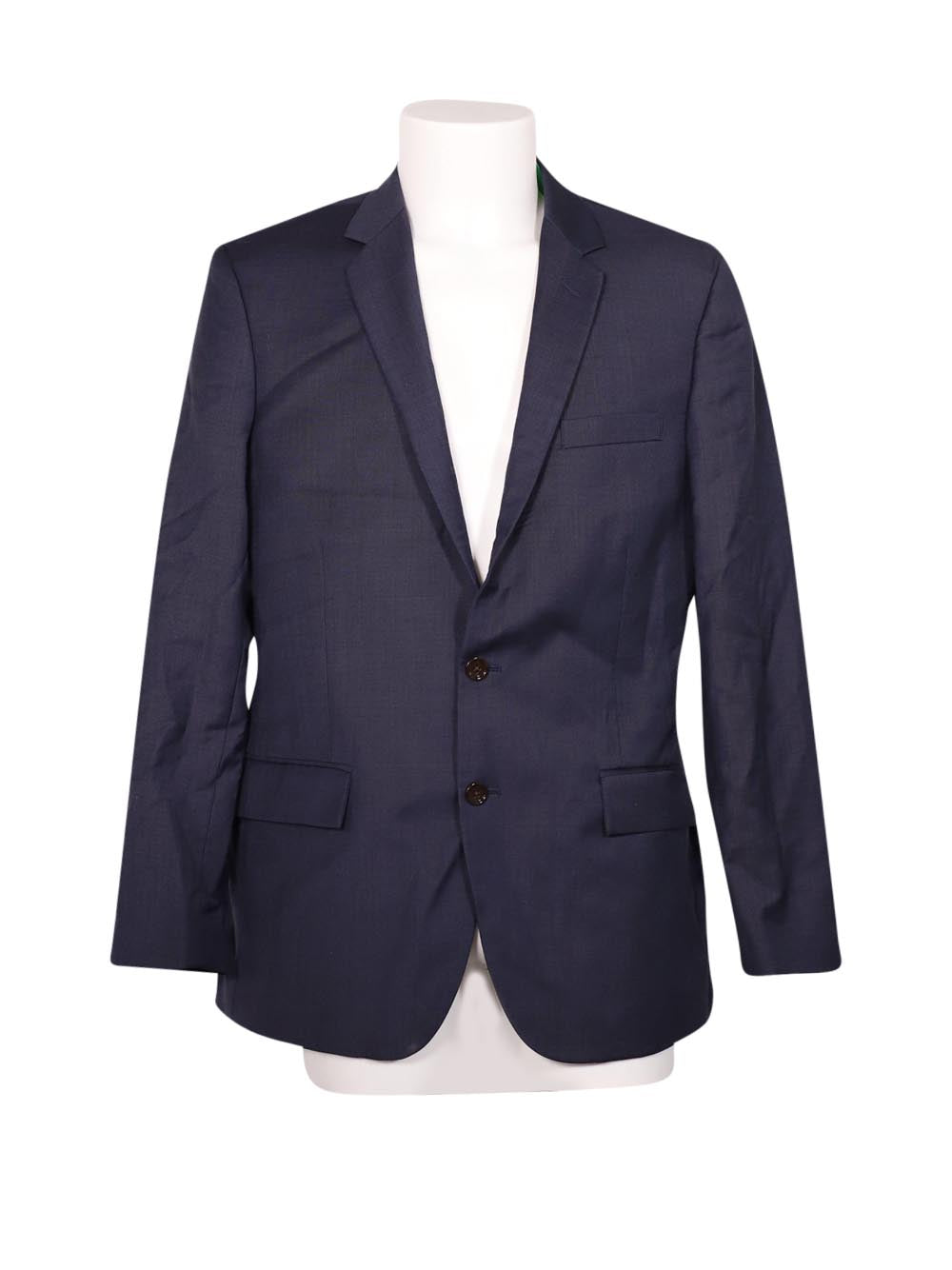 Front photo of Preloved J.Crew Blue Man's blazer - size 32/XXS