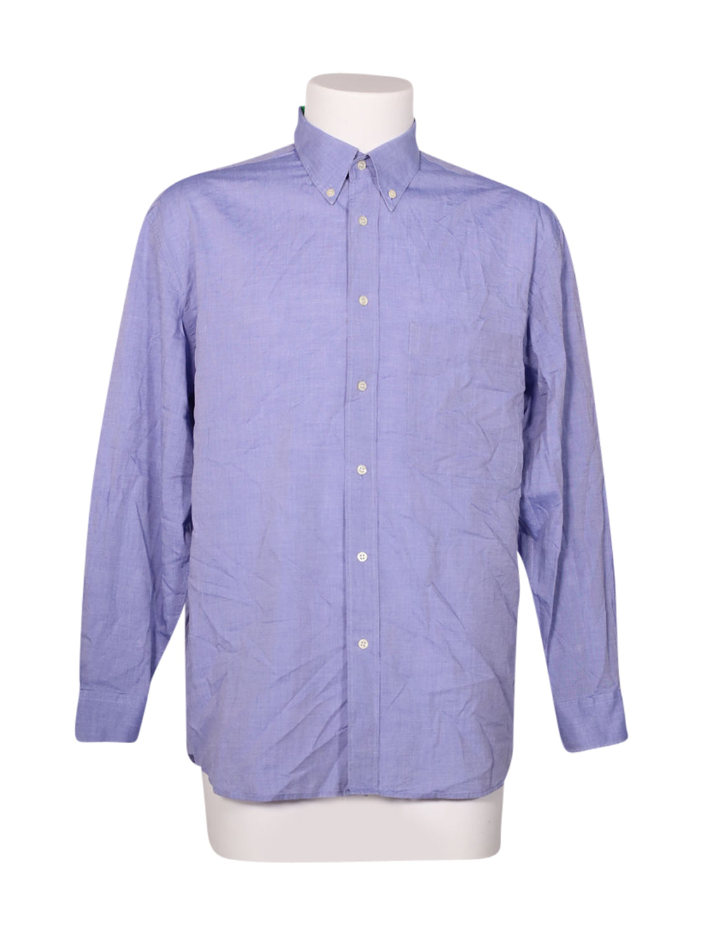 Front photo of Preloved Cacharel Blue Man's shirt - size 38/M