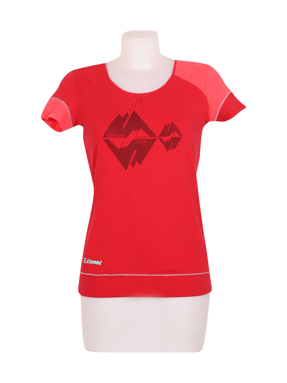 Front photo of Preloved simond Red Woman's t-shirt sport - size 10/M