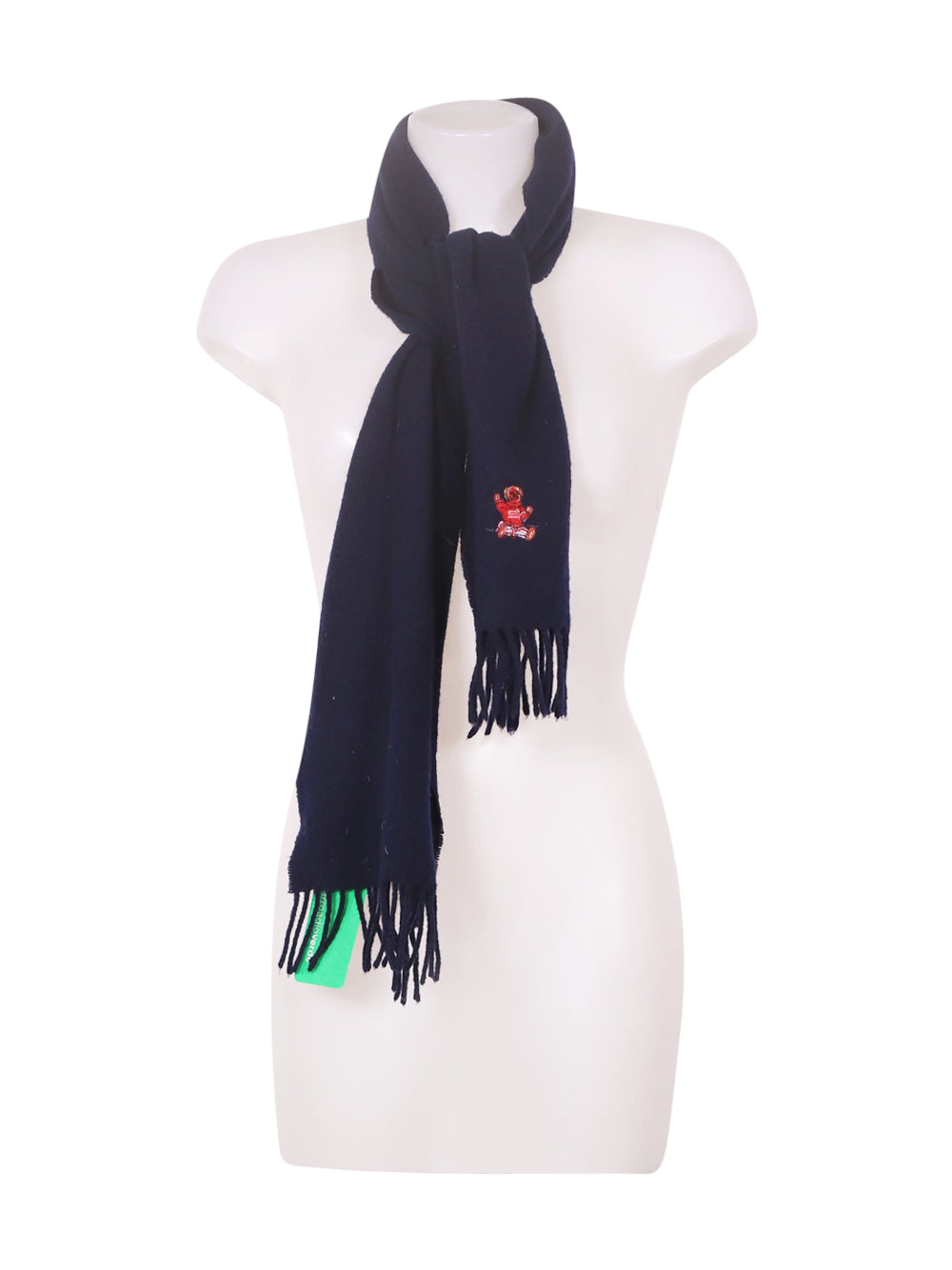 Front photo of Preloved Polo Ralph Lauren Blue Girl's scarf - size 9-10 yrs
