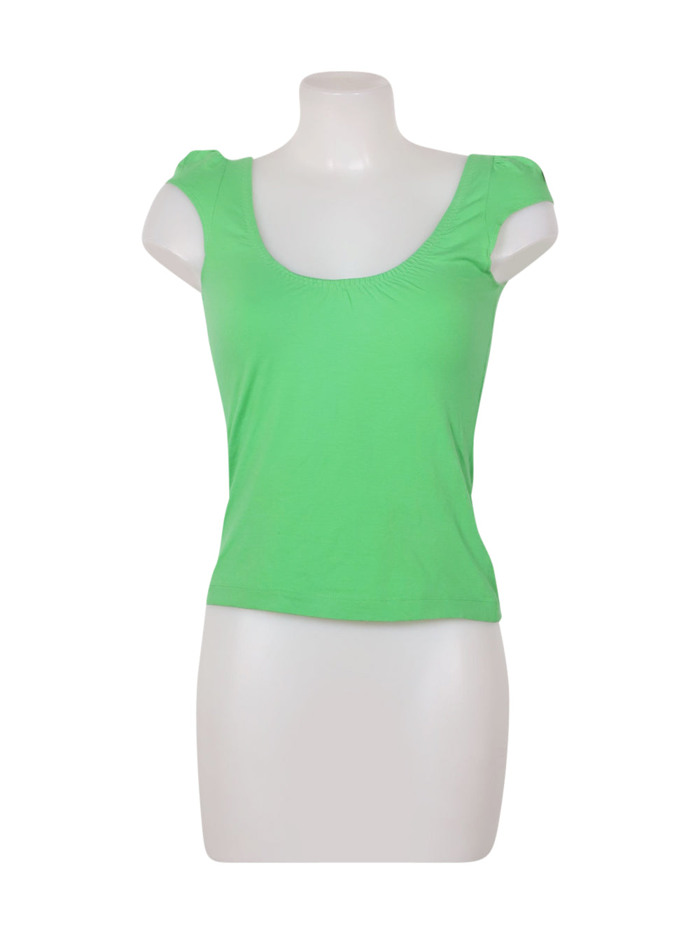 Front photo of Preloved Miss Sixty Green Woman's sleeveless top - size 8/S