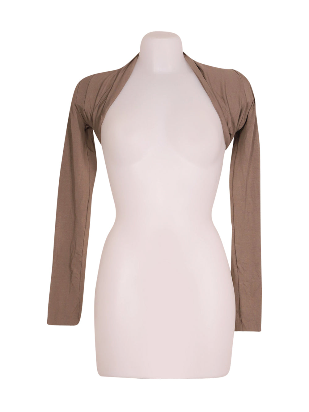 Front photo of Preloved Northland Beige Woman's bolero - size 8/S