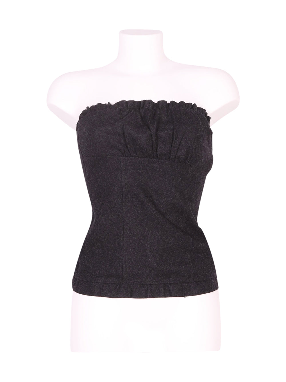 Front photo of Preloved Intimissimi Black Woman's sleeveless top - size 6/XS